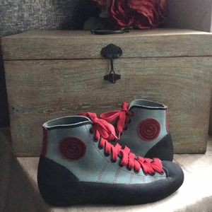Boreal Rock Climbing Womens Shoes Sz 5.5 Leather